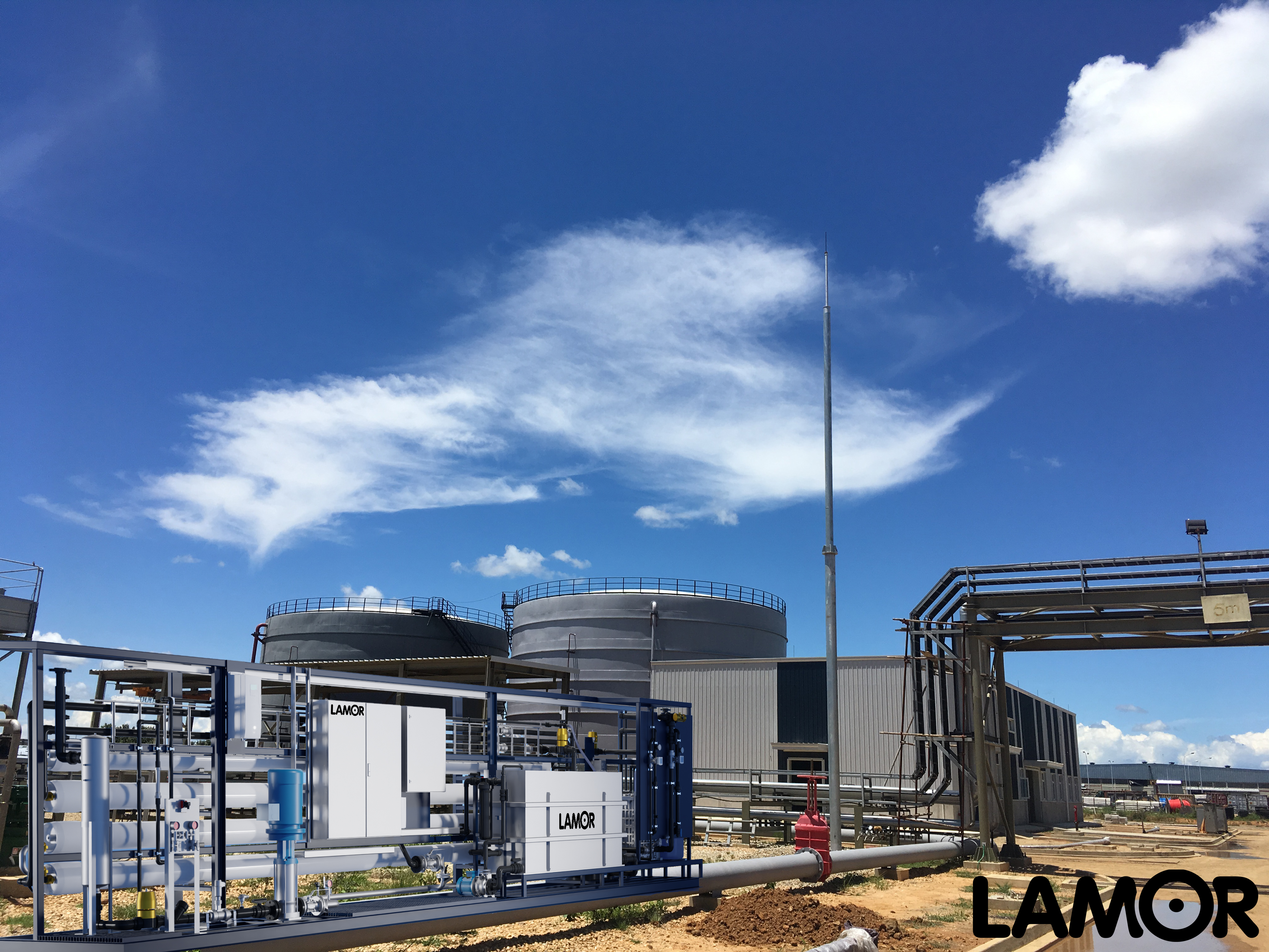 Lamor industrial process water production