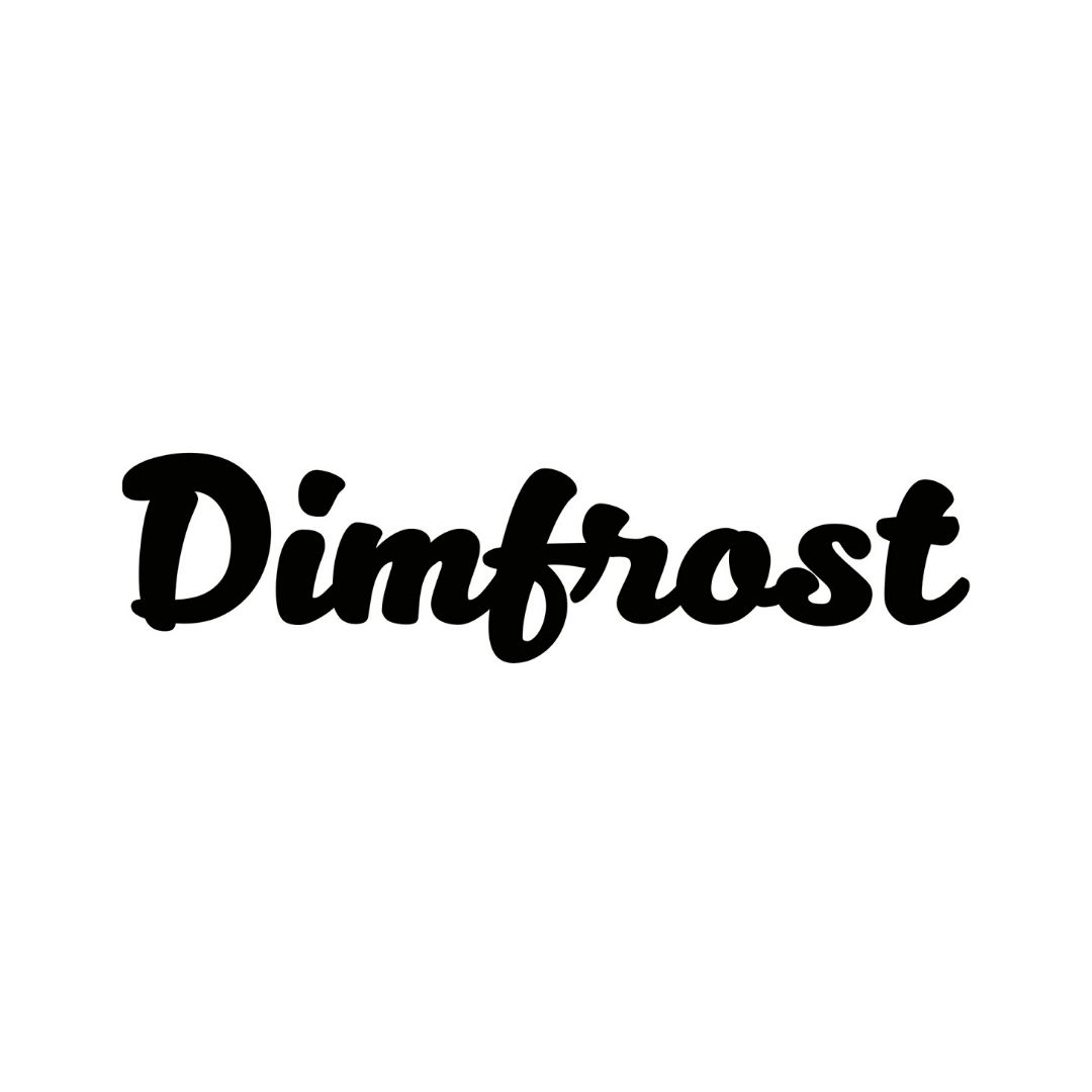 Dimfrost circle logo