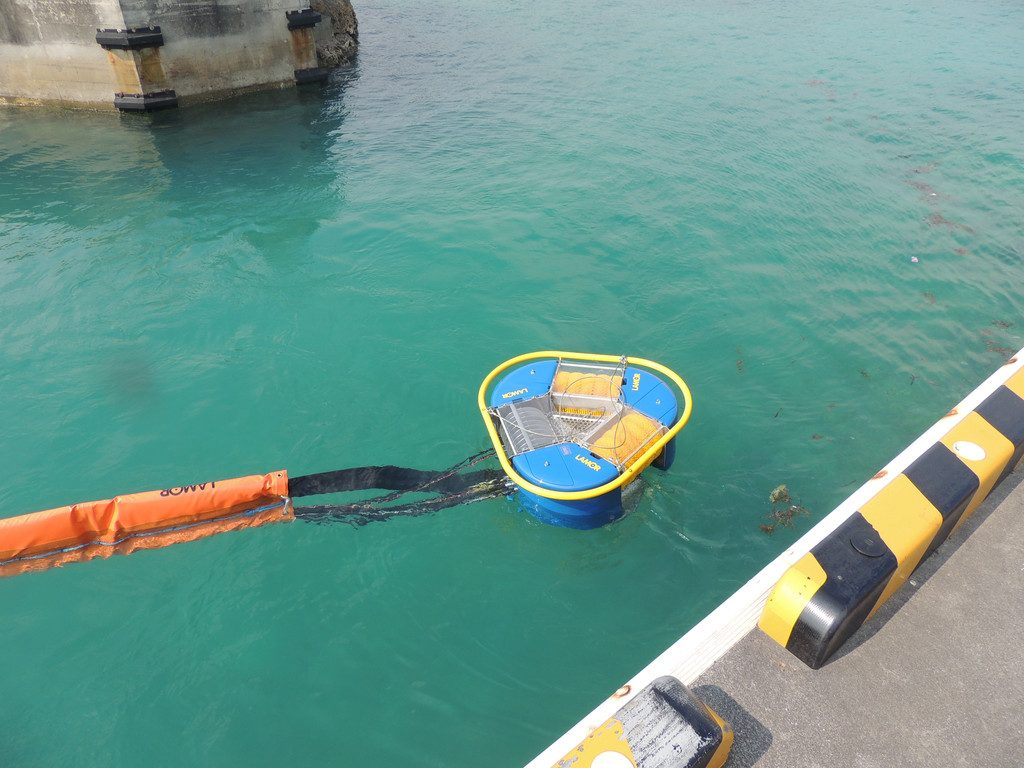Lamor Multi Skimmer helps to protect shorelines