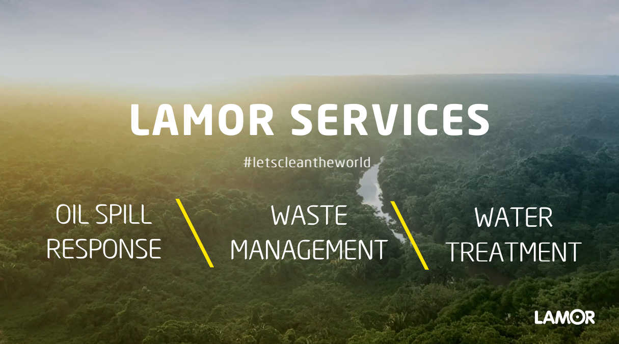 Lamor services and solutions